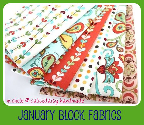 michele quilt fabrics framed