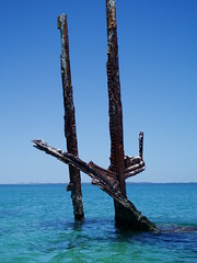 Omeo Wreck, Coogee (Figgles1) Tags: ski surf kayak canoe shipwreck kayaking wreck westernaustralia kayaks coogee surfski omeo p1020171