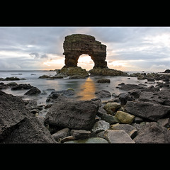 Whitburn | Arch (Reed Ingram Weir) Tags: sea seascape rocks arch northumberland lee coastline filters whitburn d700 reedingramweir