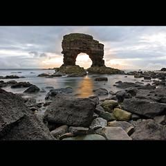 Whitburn | Arch (Reed Ingram Weir) Tags: sea seascape rocks arch northumberland lee coastline filters whitburn d700 reedingramweir
