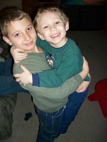 Alex and Nicholas