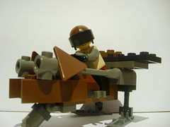 Driving (Alexander's Lego Gallery) Tags: tower cops guard police cop hunter base turret