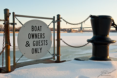 Boat Owners and Guests Only
