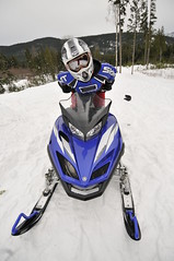 (stephenmdensmore) Tags: winter snow fun jump nikon terrace air snowmobiling d300