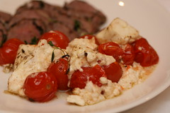 Lamb fillet + grilled tomato & feta salad / Lambafilee ning soe feta-tomatisalat (Pille - Nami-nami) Tags: food recipe recipes naminami retseptid retsept