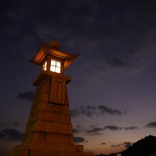 鞆港の常夜燈 Tomo Lighthouse
