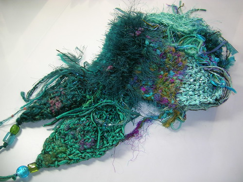 Tantalizing Teal  Scarf