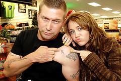 Miley Cyrus & Stephen Baldwin (RinkRatz) Tags: life justin usa celebrity gabriel jeff tattoo club death franklin montana eyecontact ray heart tennessee hannah aaron phillips bookstore stephen christian billy slap cyrus stigmata hm ltd halflength obama baldwin fit gaston achy barack miley lifeway retna breaky crisler finleyon