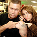 Miley Cyrus & Stephen Baldwin