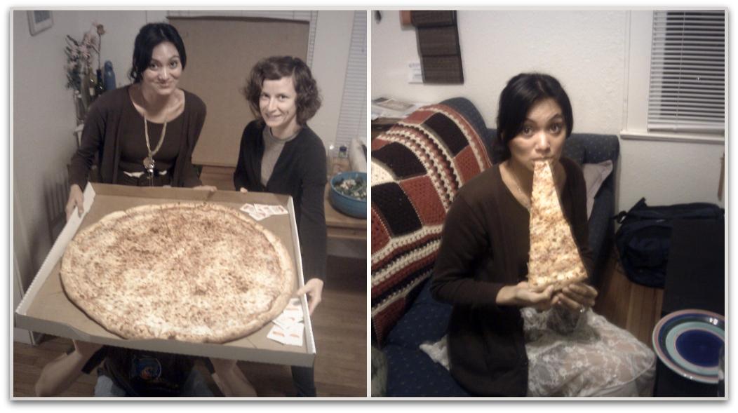 30 inch pizza!