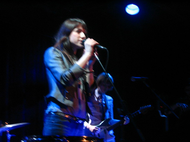 Charlotte Gainsbourg - Bell House, NYC by roddyrick