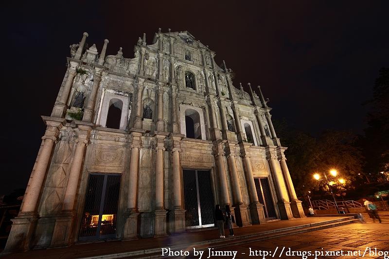 澳門 大三巴牌坊 聖保羅教堂
