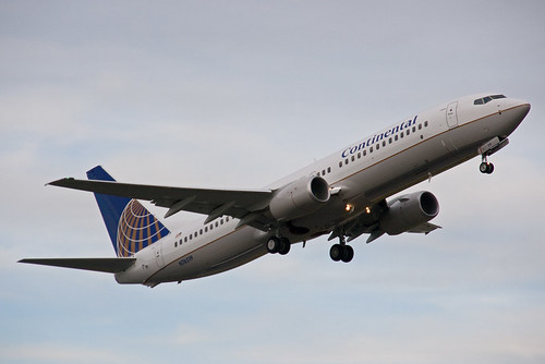 Continental N76519 Boeing 737-800 - Test Flight