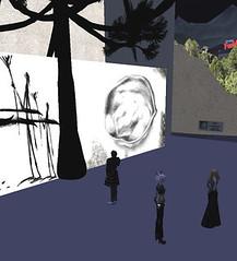 Treeline2 opening - (Virtual Treeline) Tags: tree treeline virtualart virtualtreeline