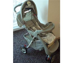 Recalled Graco stroller