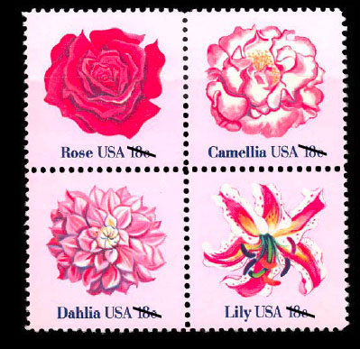 flowers stamp