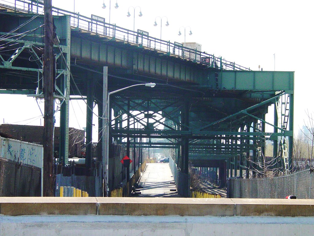 Brooklyn - View South from LIRR East New York Station - Murder Incorporated / Goodfellas