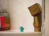 Who are you...? (Ben K Adams) Tags: blue japan magazine toy toys bathroom photography japanese for friend bath adams image ben stock potd cc cardboard license editorial rf newbies licensing yotsuba royaltyfree boxman benadams stockimage robotman noncommercial revoltech 500px boxrobot cuterobot editorspick boxtoy raretoy danboard adamnewby schtumple photographyfornewbies photography4newbies boxheadtoy japaneseboxheadtoy