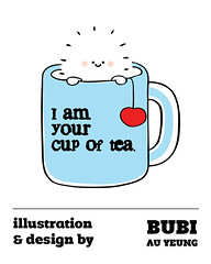 Treeson's love - I am your cup of tea (Bubi Au Yeung) Tags: love illustration idea drawing lovebite treeson bubiauyeung iamyourcupoftea fortreesonfans illustrationanddesignbybubi