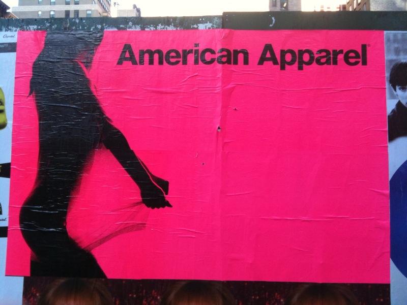 American Apparel Poster