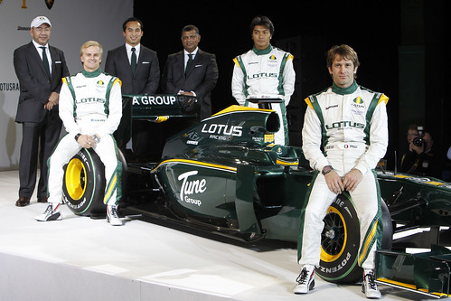 Lotus F1 Racing T127