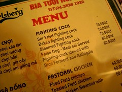 False Dog Meat Eel Served (vnkht) Tags: english writing menu funny vietnamese sony vietnam translation lostintranslation hanoi 2009 hoankiem badtranslation chingrish vitnam hni ingroup badmenus honkim qun dscw130 vietnamesetoenglish vietlish gavinkwhite