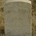 Headstone of Civil War Veteran John Todd, Boise Barracks Military Cemetery, Boise, Id.