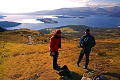 conic hill f and h (robbiebracken) Tags: winter walking landscape outdoors scotland hiking scottish lomond lochlomond conic balmaha conichill