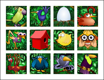 free Watch the Birdie slot game symbols