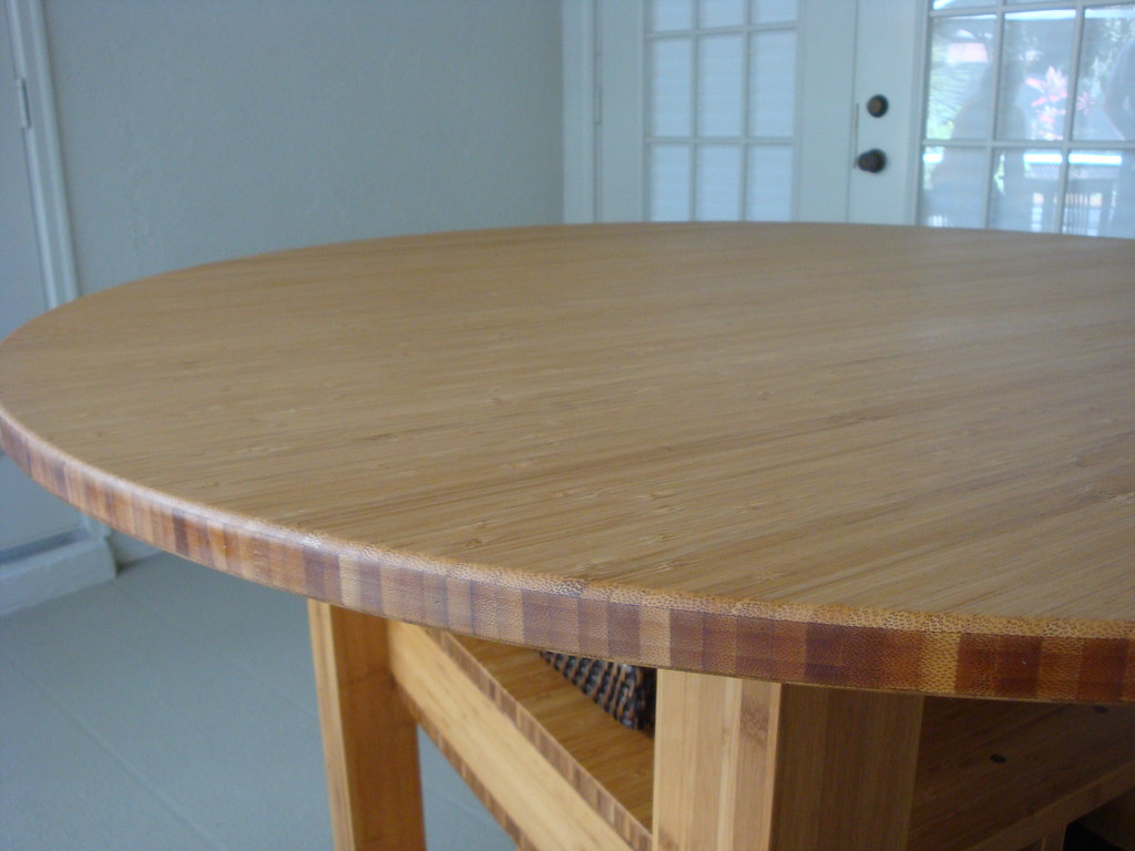 Bamboo Furniture Pub Table