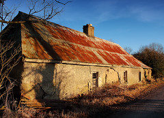Derelict House (Denis O'Donovan) Tags: old ireland house building abandoned farmhouse farm ruin oldhouse ie derelict meath bygoneera