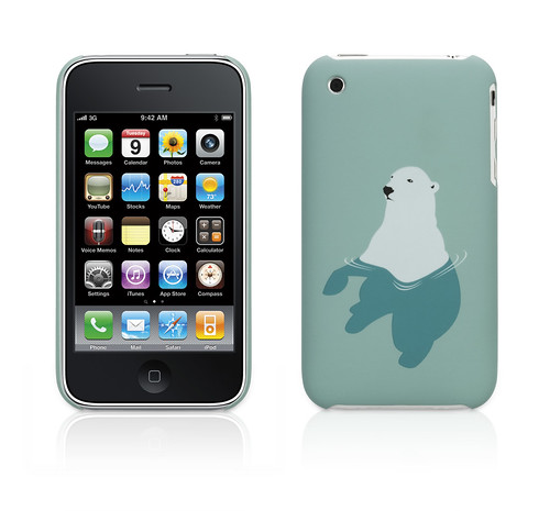 Permafrost Threadless iPhone 3G case