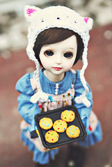 Cookies~ (Hei Yan) Tags: cookies doll gaby tiny bjd customhouse yosd rements angeai