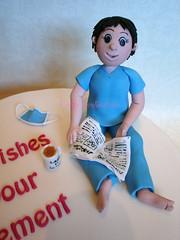 Retiring Theatre Nurse (Crafty Confections) Tags: ireland cake cork celebration nurse occasion retirement midleton craftyconfections