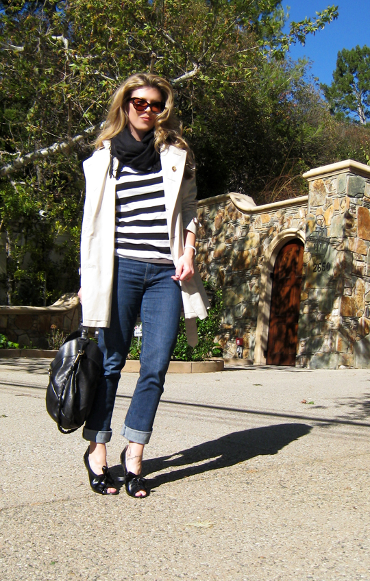 burberry trench and stripes 4