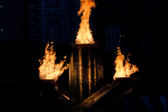 DSC_5076 (the PhotoPhreak) Tags: winter vancouver whistler fire symbol flame olympic cauldron 2010 paralympic