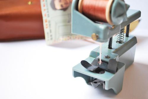 tiny sewing machine