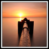 120 (Michael Halliday) Tags: longexposure morning sea sky orange seascape beach water sunrise dawn coast nikon glow creative sigma calm northumberland northumbria northeast southbeach daybreak outfall blyth d90 sigma1020 10stop nikond90