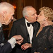Bill Cunningham, Joseph Califano Jr, and his wife Hilary.