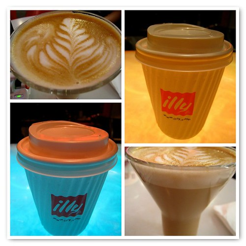 Geek Terminal's Latte - Collage