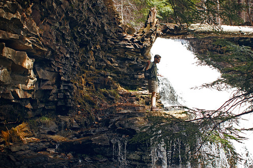 ricketts glen // at the edge