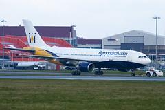 G-OJMR - 605 - Monarch - Airbus A300B4-605R - Luton - 100404 - Steven Gray - IMG_9452