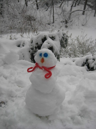 Picture 12: The Sugar-Coated Chocolate Candy Snowman