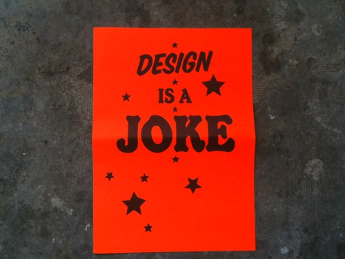Design Is A Joke