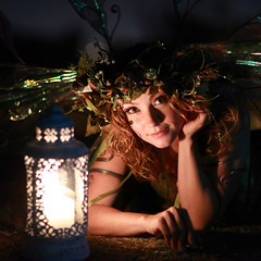 Where does wonder begin? (gbrummett) Tags: beautiful night nocturnal stunning candlelight twigthefairy arizonarenaissancefestival canonef85mmf12liiusmlens canon5dmarkiidigitalcamera 2010azrenfes wheredoeswonderbegin
