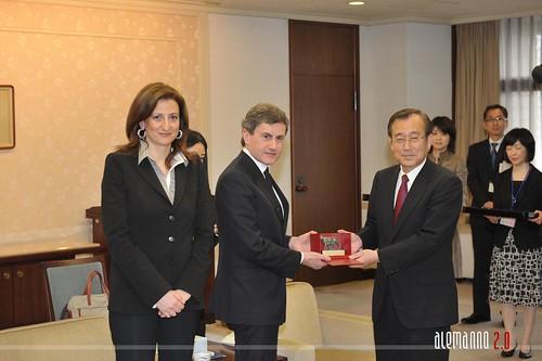 Viaggio in Giappone: incontro con sindaco di Hiroshima