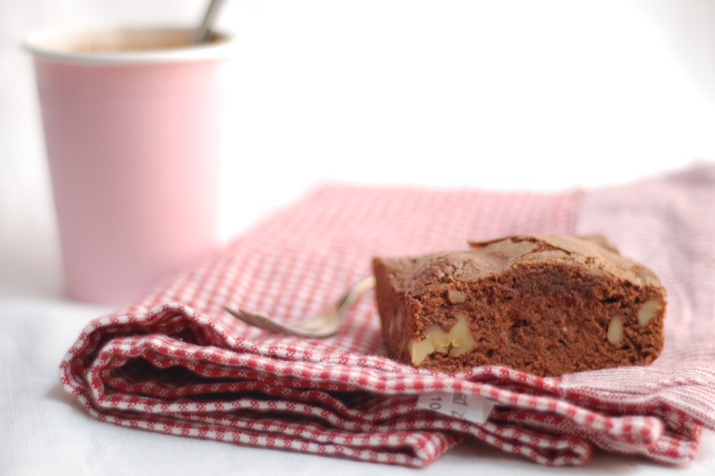 brownies con nueces