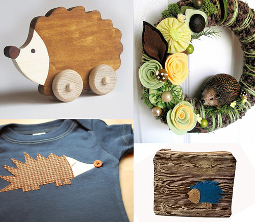 Fab Finds:  Hedgehog Love