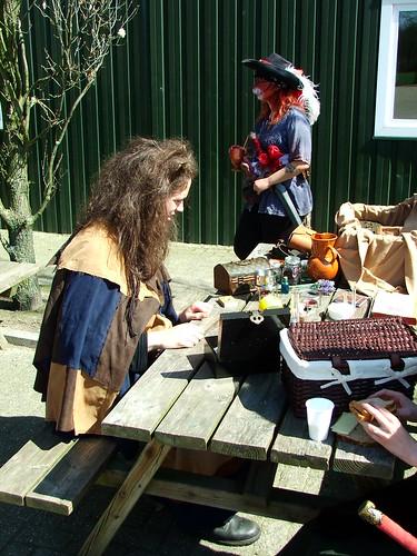 Azaz doing Alchemy