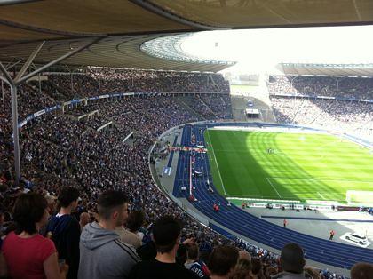 Hertha BSC im Olympiastadion - Nie mehr 2. Liga! (2)
